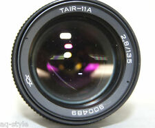 TAIR-11A 135mm f2.8 M42 Tele Lens Russian Soviet 20 blades telephoto EXC!