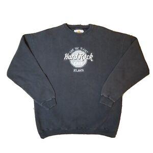 90s Vintage HARD ROCK Cafe Chicago Cotton Sweatshirt 14829