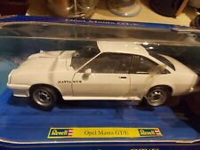 VERY RARE Limited ED Opel Manta GT/E Coupe in White by Revell,