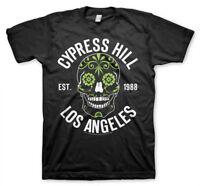 Cypress Hill Est. 1988 Los Angeles Sugar Skull Totenschädel Männer Men T-Shirt