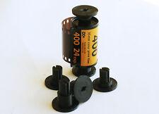 2 Sets 35mm to 620 Film spool camera Adapters Kodak Brownie Agfa Ansco Argus
