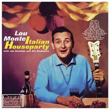 LOU MONTE - ITALIAN HOUSEPARTY  CD NEW!