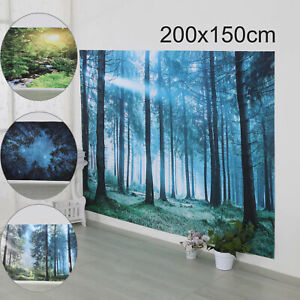 Large Wall Hanging Landscape Fantasy Throw Tapestry Bedspread Blanket Home Decor