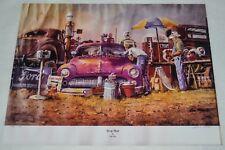 """Copy of SWAP MEET Painting By Artist Dale Klee   5"""" X 7"""""""