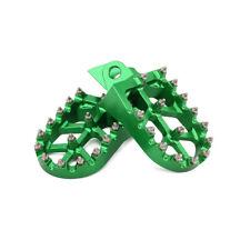 Footpegs Footrest Foot Pegs Pedals For Kawasaki KX65 85 KX80 100 Suzuki RM65 100
