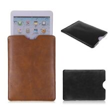 "Leather Sleeve Bag Case Pouch for 7"" iPad Mini 1 2 HTC Flyer Asus Memo Pad HD7"