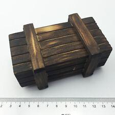 1/6 Model Soldier wooden Weapons box Battle damage ammunition caisson