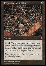 1x Phyrexian Grimoire Tempest MtG Magic Artifact Rare 1 x1 Card Cards