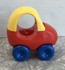 Vintage Little Tikes Red & Yellow Cozy Coupe Car Dollhouse