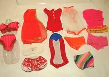 New listing Vintage Mod Talking, Living Barbie, Stacey Doll 12 Piece Swimsuit Lot & More