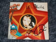 LIZ PHAIR SIGNED WHIP SMART CD COVER WITH CD INCLUDED