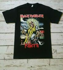 NEW- IRON MAIDEN  - KILLERS -  BAND T-SHIRT