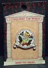 WDW DISNEY TINKER BELL I CONQUERED THE WORLD LE PASSHOLDER 2002 PIN