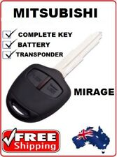 MIT11r-46 MITSUBISHI Mirage REMOTE Car KEY 2012 2013 2014 2015 2016 TRANSPONDER