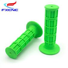 Green Hand Grip Handle Bar Throttle Grips Set For KX125 KX250F KX250 KX85 KX65
