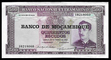 World Paper Money - Mozambique 500 Escudos 1967 @ Crisp Xf