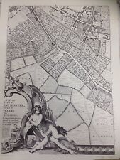 Large Print of a London Map First Published in 1746. Kent Street. e3