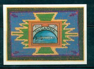 Gambia #1130 (1991 Barracuda Fish  sheet) VFMNH CV $8.00