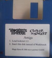 Vampires Empire & Clever + SMART (Commodore Amiga Disquette) (micropartner 1988)