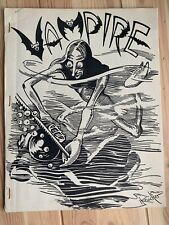 Rare 1947 Sci Fi Horror Fanzine VAMPIRE #9 Forest Ackerman Bob Tucker Zine