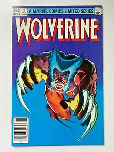 Marvel Comics Wolverine #2 (1982) Comic Book