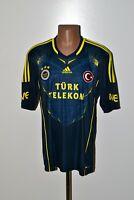 FENERBAHCE TURKEY 2013/2014 AWAY FOOTBALL SHIRT JERSEY ADIDAS SIZE XL ADULT