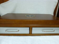 Official Presidential Vault Treasury Wooden Display Case, Storage Box