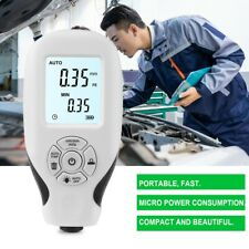 Lcd Digital Car Paint Coating Thickness Tester Gauge Meter Auto Measuring Tool