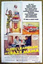 """She shot her way to Rock n Roll Heaven!  """"CRAZY MAMA"""" Beautifully colored poster"""