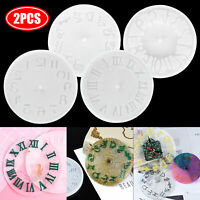 Clock Epoxy Silicone Resin Mold DIY Jewelry Making Tool Mould Handmade Craft Kit