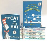 Lot 19 DR SEUSS and BRIGHT & EARLY BEGINNER BOOKS HARDCOVERS All Same Size