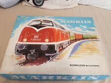 Eisenbahn Märklin H0 3121 Startset Zugset  Startpackung 60er Jahre mit V 200 ovp