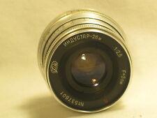 vintage 1: 2,8 Lens photography  Soviet Russian camera part
