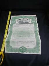 Scripophily The United States Zinc & Chemical Company 1000 Shares Dated 1928