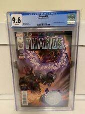 Thanos #16 CGC 9.6 NM+ 1st full Fallen One Silver Surfer Black 2018 not 9.8 MORE