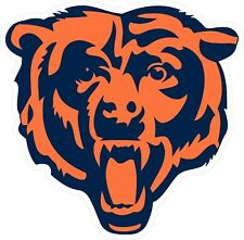 "Chicago Bears ""C"" Decal / Sticker Die cut"