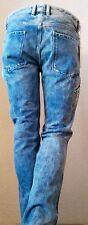 Stonewashed Diesel L34 Herren-Straight-Cut-Jeans niedriger Bundhöhe (en)