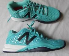 NEW BALANCE womens 7 aqua blue lightweight tennis shoes NEW 996 TP2