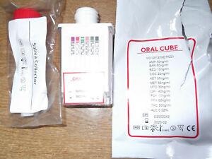 Matrix Drugs Of Abuse / Alcohol Oral Cube Drug Testing Kits
