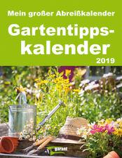 Gartentipps 2019 - Abreißkalender