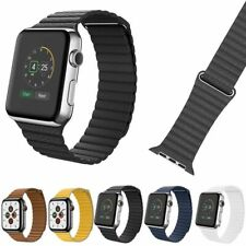 Leather Magnetic Loop Band Strap for Apple Watch Series 1 / 2 / 3 / 4 / 5