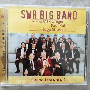 SWR BIG BAND: Swing Legenden 2 - Greger / Kuhn / Strasser (CD CK 01403 / neu)