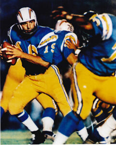 JOHNNY UNITAS UNSIGNED SAN DIEGO CHARGERS 8X10 PHOTO #1