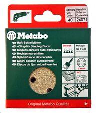 Metabo 24071 10x Haft - Schleifblätter 80mm P40