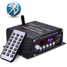 Kinter TA-2024 FM/MP3 HiFi Audio AUX Bluetooth Class-D Digital Amplifier 2x 20W