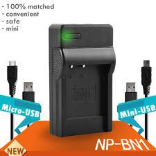 NP-BN1 Charger Battery for DSC-W310 DSC-W350 W510 Sony W330 TX5 TX7 USB G