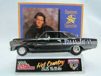 66 Nova Racing Champions Hot Country Billy Dean Chevy Nova black1:64 scale