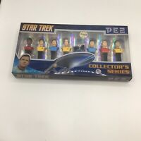 New Star Trek Pez Candy Dispensers Collector's Series with 8 Dispensers