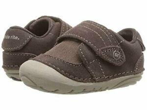 NIB STRIDE RITE Shoes  Kellen Brown Unisex 3 XW Infant