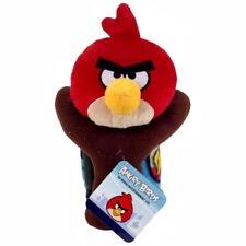 """Angry Birds Travel Hugger Set Plush Figure Toy with Throw Blanket Size 40"""" x 50"""""""
